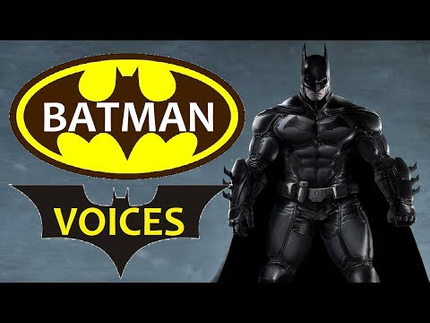 13 Best VOICE of BATMAN || Batman Movies, Batman Games, Batman TV Series (VOICE Of BATMAN)