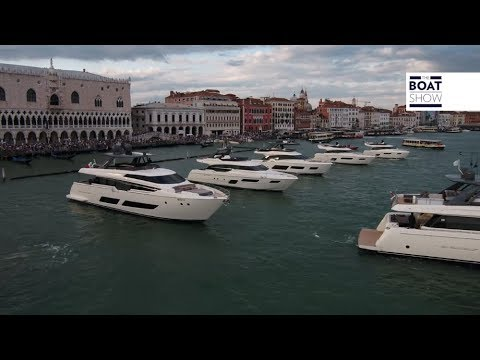 [ITA] FERRETTI YACHTS 50° ANNIVERSARIO VENEZIA 2018 - The Boat Show