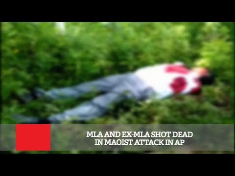 MLA And Ex-MLA Shot Dead In Maoist Attack In AP