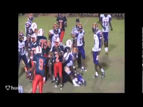"Anthony ""A.J."" Hunt 2015 RB Junior Yr Highlight Tape Stranahan High School"