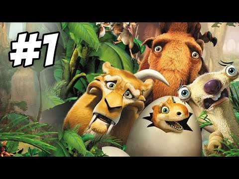 Ice Age: Dawn of the Dinosaurs Walkthrough   Part 1 (Xbox360/PS3/Wii/PC)