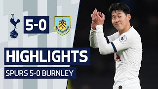 HIGHLIGHTS | SPURS 5-0 BURNLEY | ft. Heung-min Son's wonder goal!