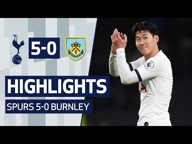 HIGHLIGHTS | SPURS 5-0 BURNLEY | ft. Heung-min Son's wonder goal! thumbnail