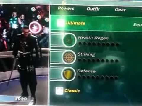 Costume Marvel Ultimate Alliance Marvel Ultimate Alliance All