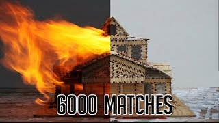 House of 6000 matches burnt down