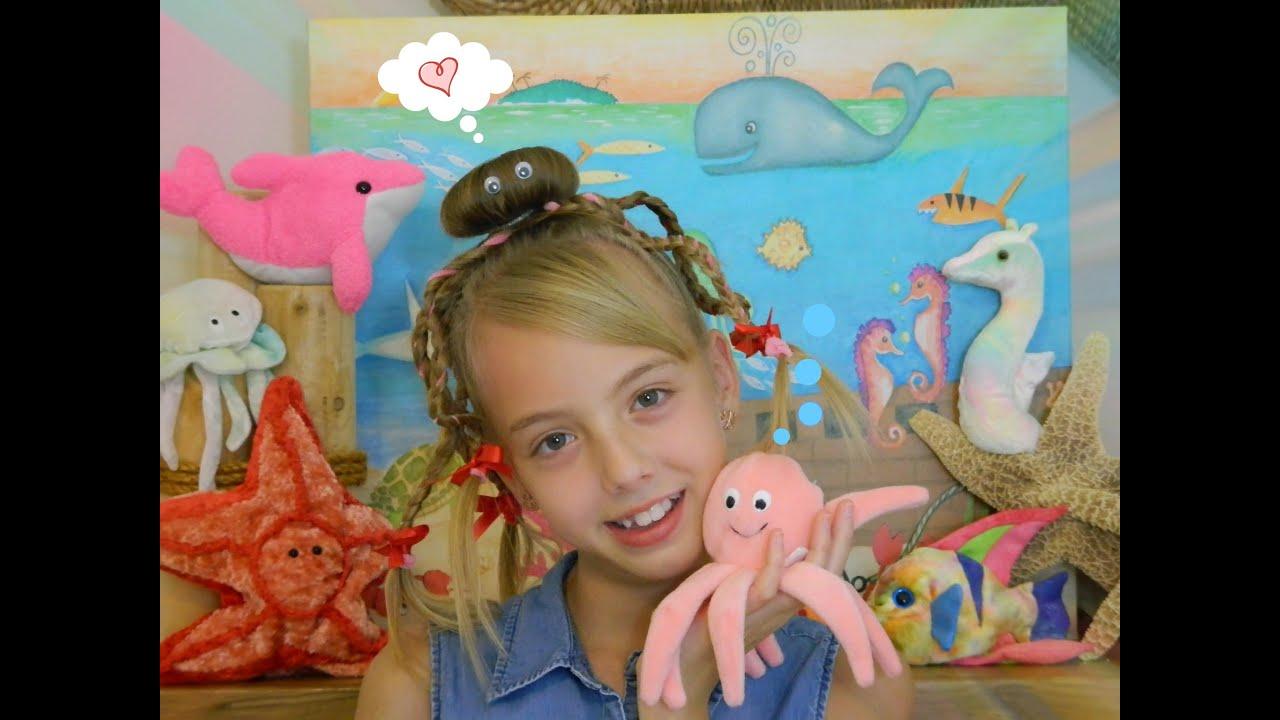 Cute Amp Fun Octopus Halloween Hairstyles Bonita Hair Do Youtube