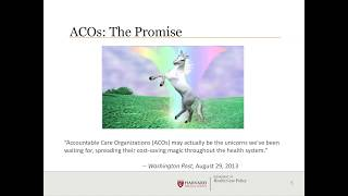 Webinar: Successful ACOs -  A Strong Foundation of Primary Care?