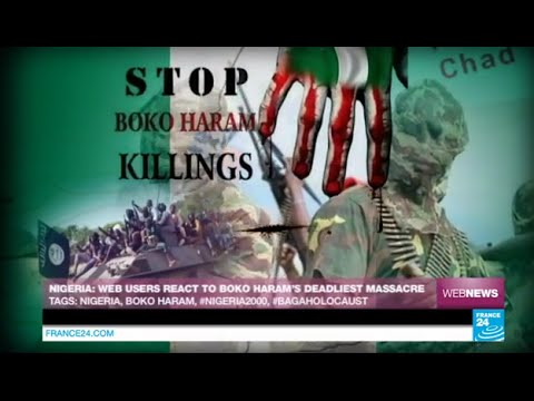 NIGERIA - Web users react to Boko Haram's deadliest massacre