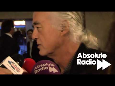 Jimmy Page interview at the Ivors 2011