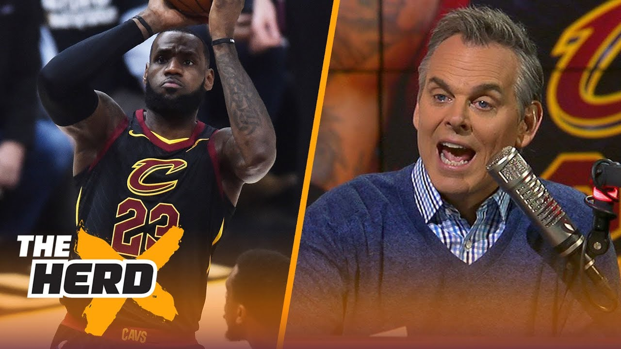 Colin Cowherd on LeBron's Game 2 vs the Pacers, the Jazz evening their series with OKC | THE HERD