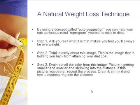 Easily Lose Weight - Using the Power of Your Mind!