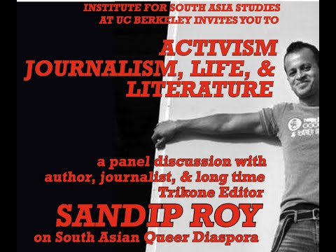 Activism, Journalism, Life, and Literature: Sandip Roy and South Asian Queer Diaspora