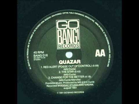 QUAZAR - RED ALERT (POSSE OUT OF CONTROL) 1991