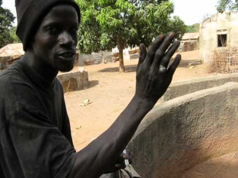 Gambia Lifewater Project - Post Kani Kunda Tendala Back Water Charity 5-14-12 Jeremy Mak
