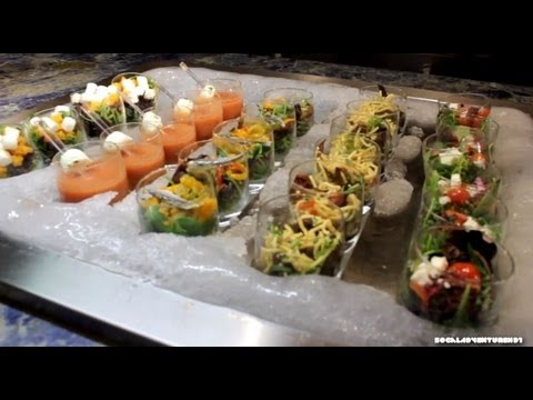 The Buffet at Wynn Las Vegas - HD Walk Tour of Wynn Dinner Buffet Station - Tour of Wynn Buffet