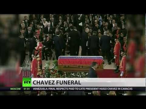 Venezuelan President Chavez laid to rest in Caracas