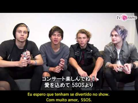 5SOS Message to Japanese Fans! (Legendado PT-BR)