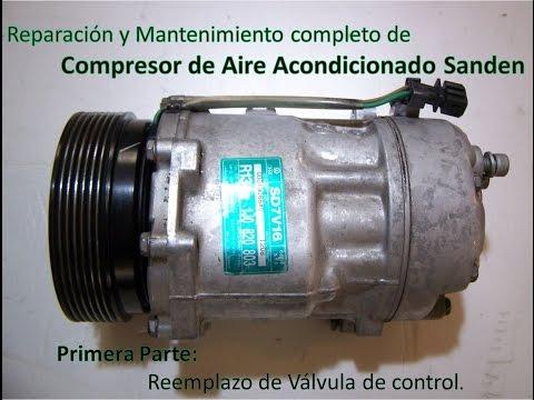 Reparacion Compresor de Aire Acondicionado Sanden (PXV16, SD7V16 y SD6V12)