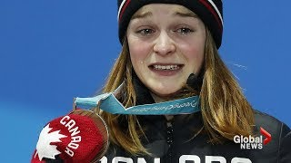 Canadian speedskater receives online death threats following Olympic bronze-medal win
