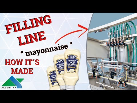 Albertina - Filling line for mayonnaise 02