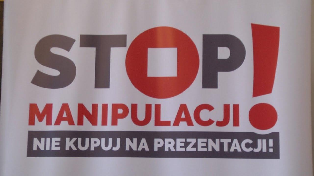 Stop manipulacji
