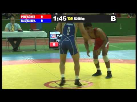Grand Prix of Germany 2012 60FS Franklin Gomez PUR-KUDUKHOV Besik RUS