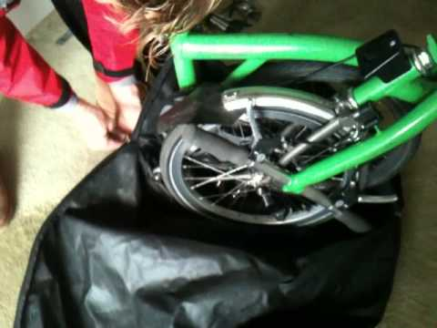 Aeroplane Travel With Brompton