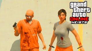 GTA 5 Heist - PRISON BREAK FULL HEIST GAMEPLAY! (GTA 5 Heist DLC Gameplay)