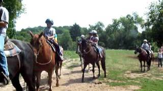 Horseback Riding at Camp Anokijig, a Youth Summer Camp & Family Camp Plymouth Wisconsin
