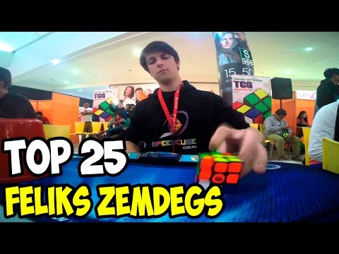 Top 25 of Feliks Zemdegs 3x3