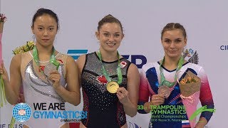 2018 Trampoline Worlds Four nations win Gold, Highlights We are Gymnastics !