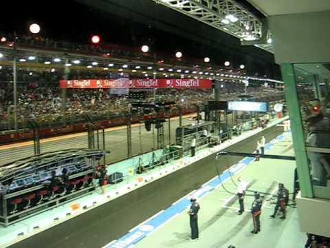 Singapore F1 Grand Prix 2010 Start