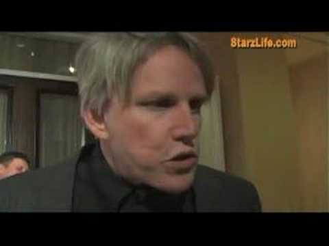 Gary Busey abuses an 11 year old reporter at the United Nation Children's Foundation Oscar after-party. Check out more exclusive photos at Starzlife.com!