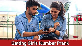 Getting Girls Number Prank ( With A Twist )    By Zia Kamal
