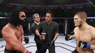 Boris Animal vs. Khabib Nurmagomedov (EA sports UFC 2) - CPU vs. CPU