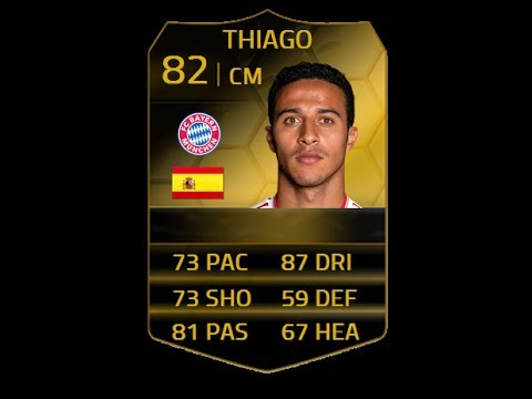 FIFA 14 IF THIAGO 82 Player Review & In Game Stats Ultimate Team