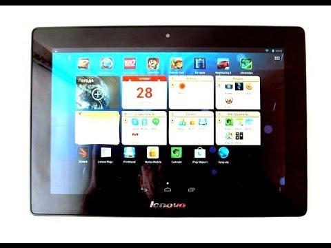 """Lenovo S6000 - 4-ядерный планшет с 10,1"""" HD IPS экраном - видео обзор"""