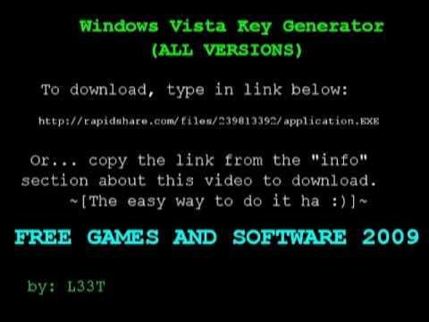 Windows Vista Activator - Free Vista