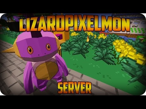 Pixelmon Server Minecraft Pokemon Lizard Pixelmon Server Ep 2 PREPARING FOR THE GYM BATTLE