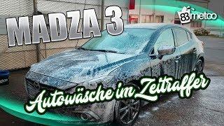 Autowäsche Uncut im Zeitraffer ♫ | Juli wäscht den Mazda 3 | Car Cleaning Guru Style