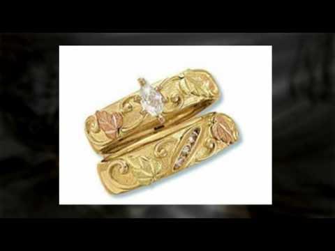 Black Hills Gold Wedding Rings Sets 84 Luxury