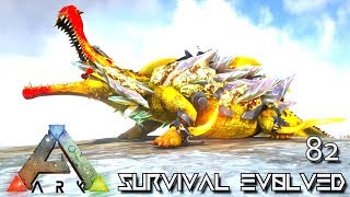 ARK: SURVIVAL EVOLVED - TEK SARCO DRAGON MANTICORE EMPERORS FOREWORLD MYTH E82 (MOD EXTINCTION CORE)