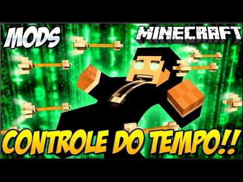 Minecraft COMO CONTROLAR O TEMPO Time Control Mod