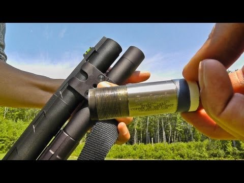 M887 nitro mag clay shooting tactical way See pellets hit in slow motion.