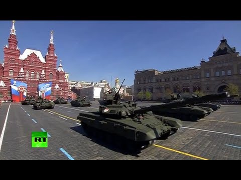 Military Parade on Moscow's Red Square on Victory Day 2013 (FULL HD VIDEO)