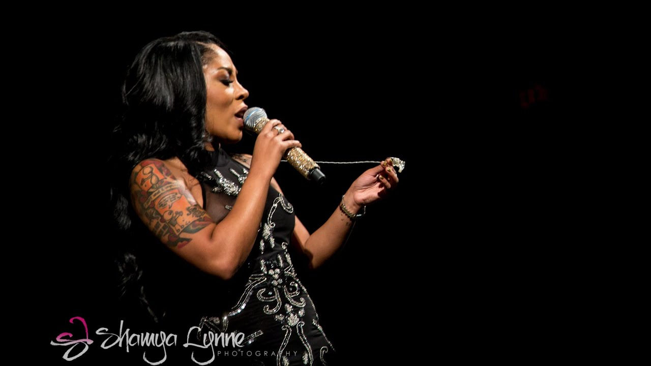K Michelle Cry K Michelle in Concert Hard