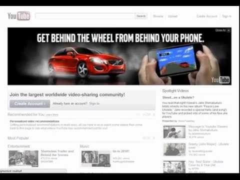 Volvo Masthead - Interactive Automotive Showcase - YouTube