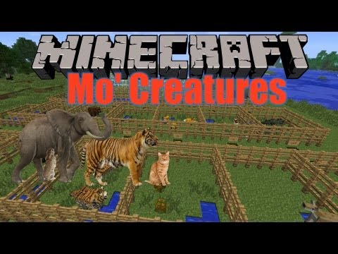 Minecraft 1.5.1 Mo' Creatures Mod Vorstellung  - Review + Installation (Deutsch) [HD]