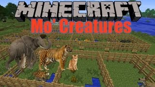 Minecraft 1.4.7 Mo' Creatures Mod Vorstellung - Review + Installation (Deutsch) [HD]