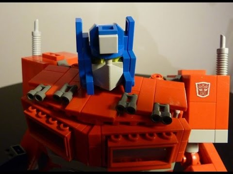 Optimus Prime . A G1 Lego Transformers Creation by BWTMT Brickworks